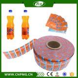 Étiquette sensible à la chaleur de rétrécissement de PVC pour la bouteille de boissons