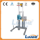 Homogeneizador de elevación móvil para el líquido/la crema de mezcla de emulsión