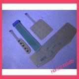 Interruttore di membrana di gomma della tastiera di alta qualità di illuminazione posteriore su ordinazione di Lgf