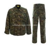 デジタル森林カムフラージュのBduの軍服