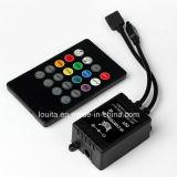 Regulador alejado IR de la música dominante de 20 para la luz del RGB LED