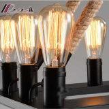 Lampe pendante noire en verre moderne de Matt pour le projet d'hôtel