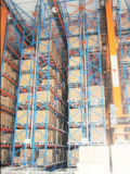 Armazém Super Save Space Asrs Storage Racking System