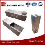 Части машинного оборудования запасных частей нержавеющей стали изготовления продукции металлического листа