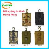 Bolso militar de la cintura para el teléfono con el gancho de leva