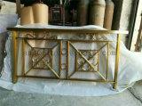 Роскошный усовик лестниц украшения нержавеющей стали цвета 304 золота для используемого крытого