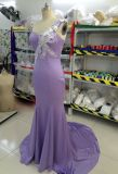 Aoliweiyaの卸し売り高品質のプロムの服のトランペットのトレイン