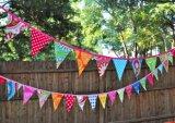 Acontecimiento y Backstreet Bandera Bunting, al aire libre Mini tela Bunting Banner