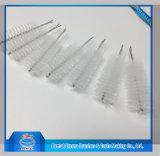 El cepillo de nylon de la torcedura para la limpieza embotella los tubos