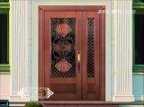 Coppmanの前ドアデザインハンドメイドの機密保護の銅のドア