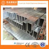 Fabrik-Aluminiumquadrat-/flach Gefäß-Profil der China-Oberseite-10