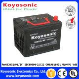 2 batería de coche sin necesidad de mantenimiento sellada de la garantía 12V del año 75ah