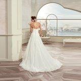 Шнурок Sweethetar высокого качества Appliques a - линия платье венчания 2017