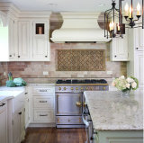 Gabinete de cozinha de suspensão de madeira da cereja elegante agradável de Quailty