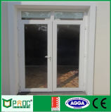 Porta barata do alumínio do preço/a de alumínio do Casement com vidro (PNOC0012CMD)