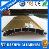 Kundenspezifisches Rollen-Walzen-Blendenverschluss-Tür-Aluminiumprodukt-Aluminiumstrangpresßling-Profil mit Oxidation