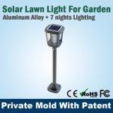 luz solar del césped del jardín de 2W LED