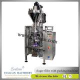 Máquina de embalagem vertical automática verde do selo da suficiência do formulário do feijão de café