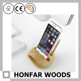 Beech Wood Phone Holder Amplificateur de son Dock pour iPhone6 ​​/ 6s / 7