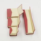 Caixa de papel da fantasia do presente de veludo do gelo para a jóia (J11-E2)