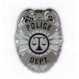 Personalizzato il distintivo di Seuurity della polizia della pressofusione
