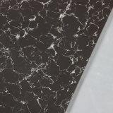 Le double de matériau de construction chargeant Pulati blanc noir a poli prix vitrifié par tuile de carrelage de porcelaine le bon