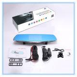 5 enregistreur vidéo automatique de pouce FHD 1080P avec deux appareils-photo