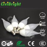 Bulbos superiores de la vela de la venta F37 LED con el Ce RoHS