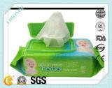 100%Bamboo 80PCS Skincare que limpia trapos mojados húmedos del bebé