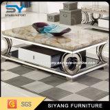簡単な現代正方形のホーム家具のソファーのコーヒーテーブル