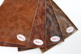 Öl eingewachsenes halb PU-Leder für Möbel (768#)