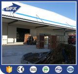 Diseño industrial prefabricado del almacén del taller del coche de la estructura de acero