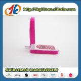 Speelgoed van de Telefoon van Novetly het Plastic Geen Speelgoed van de Telefoon van de Cel van de Functie voor Jonge geitjes