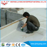 Membrane imperméable à l'eau de PVC avec le renfort de maille de polyester pour le toit plat