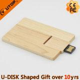 Шарнирное соединение/вращая деревянный USB Pendrive карточки для подарка (YT-3132)