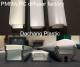 Alloggiamento acrilico glassato del LED
