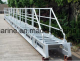 Супер подгонянный качеством морской алюминиевый трап мостк