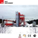 100-123 planta caliente de la mezcla de la t/h para la venta/la planta del asfalto