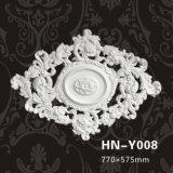 폴리우레탄 장식적인 천장 로즈 PU 큰 메달 Hn Y008
