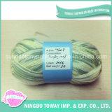길쌈 고강도 Handknitting 메리노 양모 순수한 모직 털실
