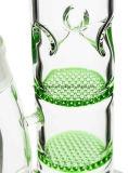 Gunst glas-2 Honingraat 3 de Geknepen Waterpijp van de Inkepingen van het Ijs