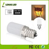Lampadina dei lampadari LED di E12 1.5W per illuminazione di notte