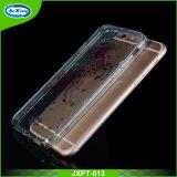 La caja suave transparente clara ultra fina 2017 del teléfono del diseño del OEM para iPhone7, para el iPhone 7 TPU flexibles mueve hacia atrás la cubierta del caso