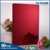 Espejo coloreado espejo oval decorativo del cuarto de baño del espejo del espejo del espesor de Olsoon 0.8-6m m
