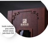 Caso di visualizzazione rigido di legno del vino della copertura superiore splendida