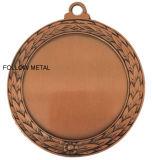 Médaille avec le blanc au milieu pour le matériel de sports