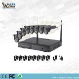Cámara impermeable sin hilos fuerte del IP del sistema WiFi IR del CCTV de los kits de la señal 8chs NVR