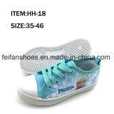 Chaussures de toile occasionnelles d'injection d'enfants avec la bonne qualité (FFHH-092802)