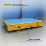Chariot à plat électrique de camion de solution conçu par coutume de traiter matériel