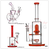 Hbking 8inch American Downstem de couleur Baker Base Perc Glass Smoking Water Pipe